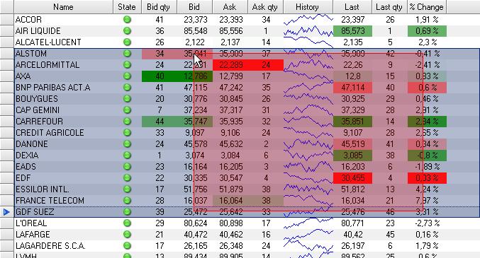 Semi Transparent Grid Selection2